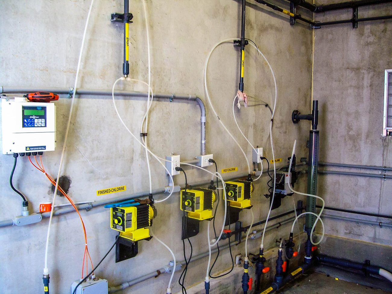 Mechanical Piping and Chemical Feed Systems - Turner Murphy Company Inc